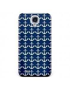 Coque Ancre Marin Bleu Anchors Navy pour Samsung Galaxy S5 - Mary Nesrala