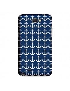 Coque Ancre Marin Bleu Anchors Navy pour Samsung Galaxy Note III - Mary Nesrala