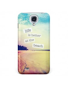 Coque Life is better at the beach Ete Summer Plage pour Samsung Galaxy S5 - Mary Nesrala