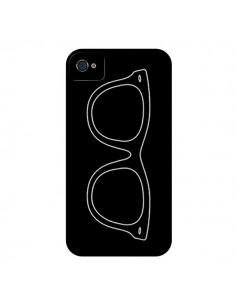 Coque Lunettes Noires pour iPhone 4 et 4S - Mary Nesrala