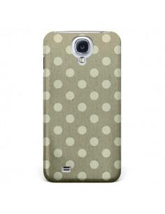 Coque Pois Polka Camel pour Samsung Galaxy S5 - Mary Nesrala