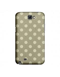 Coque Pois Polka Camel pour Samsung Galaxy Note III - Mary Nesrala