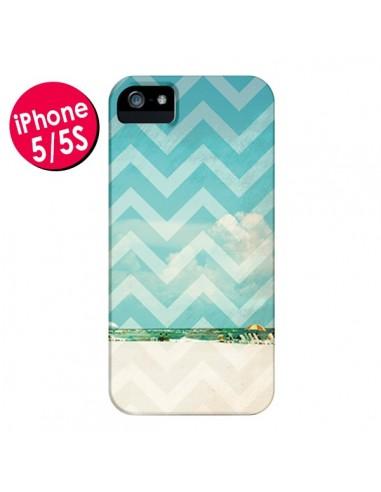 Coque Chevron Beach Dreams Triangle Azteque pour iPhone 5 et 5S - Mary Nesrala