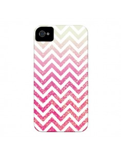 Coque Chevron Pixie Dust Triangle Azteque pour iPhone 4 et 4S - Mary Nesrala