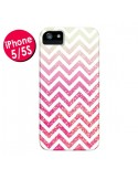 Coque Chevron Pixie Dust Triangle Azteque pour iPhone 5 et 5S - Mary Nesrala