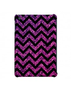 Coque Chevron Purple Sparkle Triangle Azteque pour iPad Air - Mary Nesrala