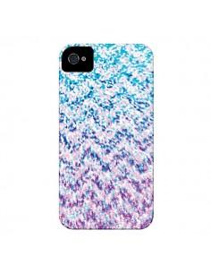 Coque Chevron Splash Triangle Azteque pour iPhone 4 et 4S - Mary Nesrala