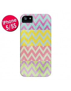 Coque Chevron Summer Triangle Azteque pour iPhone 5 et 5S - Mary Nesrala