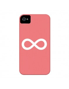 Coque Infinity Infini Forever Corail pour iPhone 4 et 4S - Mary Nesrala