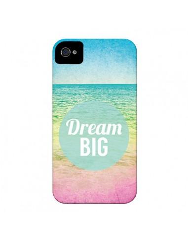 Coque Dream Big Summer Ete Plage pour iPhone 4 et 4S - Mary Nesrala