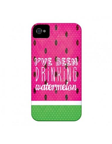 Coque Pasteque Watermelon pour iPhone 4 et 4S - Mary Nesrala
