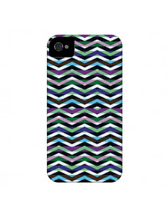 Coque Equilibirum Azteque Tribal pour iPhone 4 et 4S - Mary Nesrala