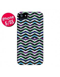 Coque Equilibirum Azteque Tribal pour iPhone 5 et 5S - Mary Nesrala