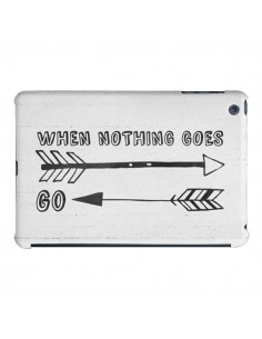 Coque When nothing goes right pour iPad Air - Mary Nesrala