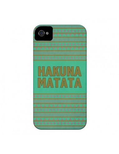 Coque Hakuna Matata Roi Lion pour iPhone 4 et 4S - Mary Nesrala