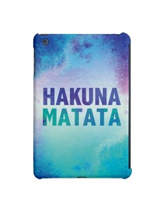 Coque Hakuna Matata Roi Lion Bleu pour iPad Air - Mary Nesrala