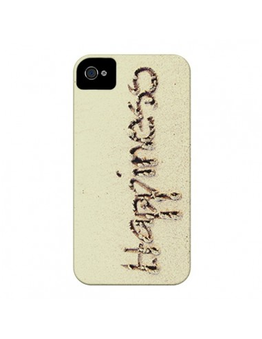Coque Happiness Sand Sable pour iPhone 4 et 4S - Mary Nesrala