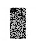 Coque Leopard Gris Neon pour iPhone 4 et 4S - Mary Nesrala