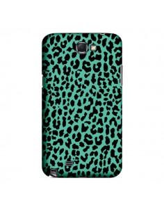 Coque Leopard Mint Vert Neon pour Samsung Galaxy Note III - Mary Nesrala