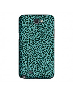Coque Leopard Turquoise Neon pour Samsung Galaxy Note III - Mary Nesrala