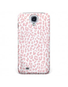 Coque Leopard Rose Corail pour Samsung Galaxy S4 - Mary Nesrala