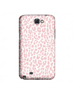 Coque Leopard Rose Corail pour Samsung Galaxy Note III - Mary Nesrala