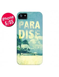 Coque Paradise Summer Ete Plage pour iPhone 5 et 5S - Mary Nesrala