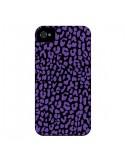Coque Leopard Violet pour iPhone 4 et 4S - Mary Nesrala