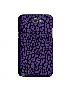 Coque Leopard Violet pour Samsung Galaxy Note III - Mary Nesrala