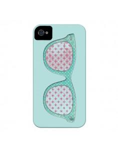 Coque Lunettes Retro Fashion pour iPhone 4 et 4S - Mary Nesrala