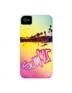 Coque Summer Dream Ete Plage pour iPhone 4 et 4S - Mary Nesrala