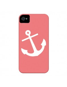 Coque Ancre Corail pour iPhone 4 et 4S - Mary Nesrala