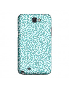 Coque Leopard Turquoise pour Samsung Galaxy Note III - Mary Nesrala