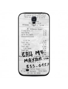 Coque Call me maybe pour Samsung Galaxy S4 - Benoit Bargeton