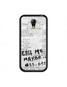 Coque Call me maybe pour Samsung Galaxy S4 Mini - Benoit Bargeton