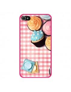 Coque Petit Dejeuner Cupcakes pour iPhone 4 et 4S - Benoit Bargeton
