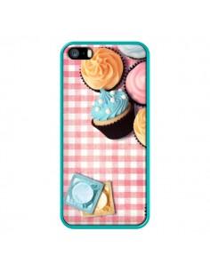 Coque Petit Dejeuner Cupcakes pour iPhone 5 et 5S - Benoit Bargeton