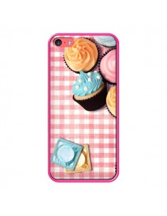 Coque Petit Dejeuner Cupcakes pour iPhone 5C - Benoit Bargeton