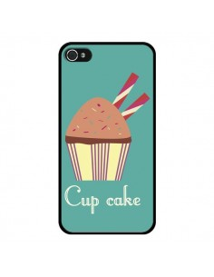 Coque Cupcake Chocolat pour iPhone 4 et 4S - Léa Clément