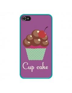 Coque Cupcake Cerise Chocolat pour iPhone 4 et 4S - Léa Clément