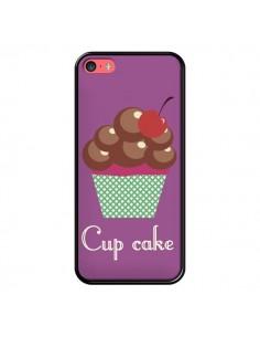 Coque Cupcake Cerise Chocolat pour iPhone 5C - Léa Clément