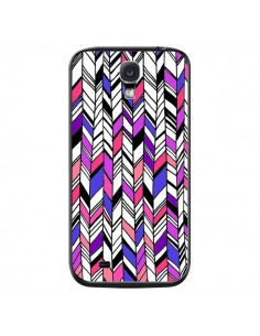 Coque Graphic Azteque Rose Violet pour Samsung Galaxy S4 - Léa Clément