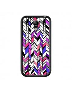 Coque Graphic Azteque Rose Violet pour Samsung Galaxy S4 Mini - Léa Clément