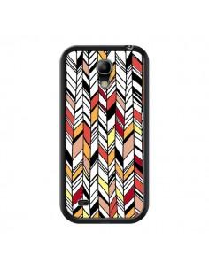 Coque Graphic Azteque Rouge Orange pour Samsung Galaxy S4 Mini - Léa Clément