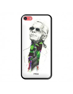 Coque Karl Lagerfeld Fashion Mode Designer pour iPhone 5C - Percy