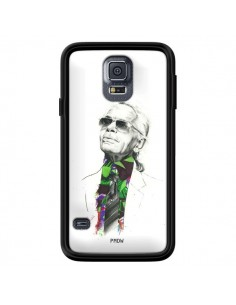 Coque Karl Lagerfeld Fashion Mode Designer pour Samsung Galaxy S5 - Percy