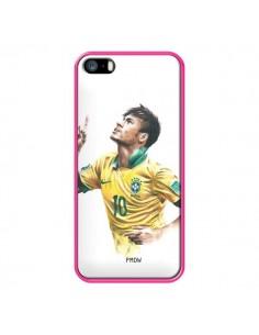 Coque Neymar Footballer pour iPhone 5 et 5S - Percy