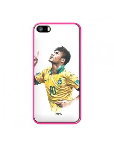 coque iphone 5 5s se neymar football bresil percy 5s