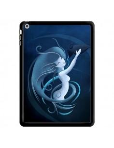 Coque Aquarius Girl La Petite Sirene pour iPad Air - LouJah