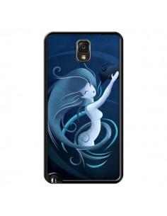 Coque Aquarius Girl La Petite Sirene pour Samsung Galaxy Note III - LouJah